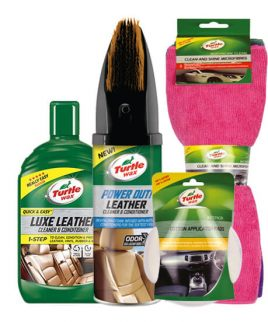 Turtle Wax Leer schoonmaak kit