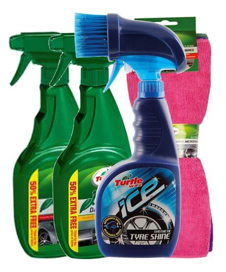 Turtle Wax XXL auto schoonmaak kit