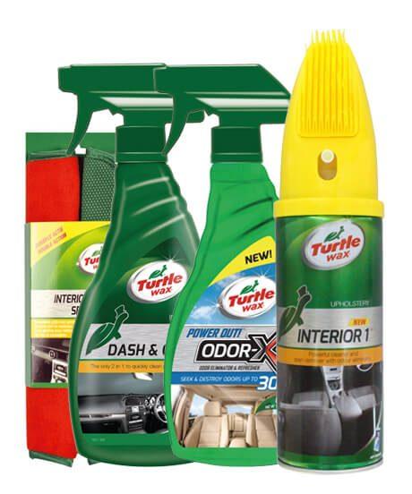 Turtle Wax interieur schoonmaken voordeel pakket