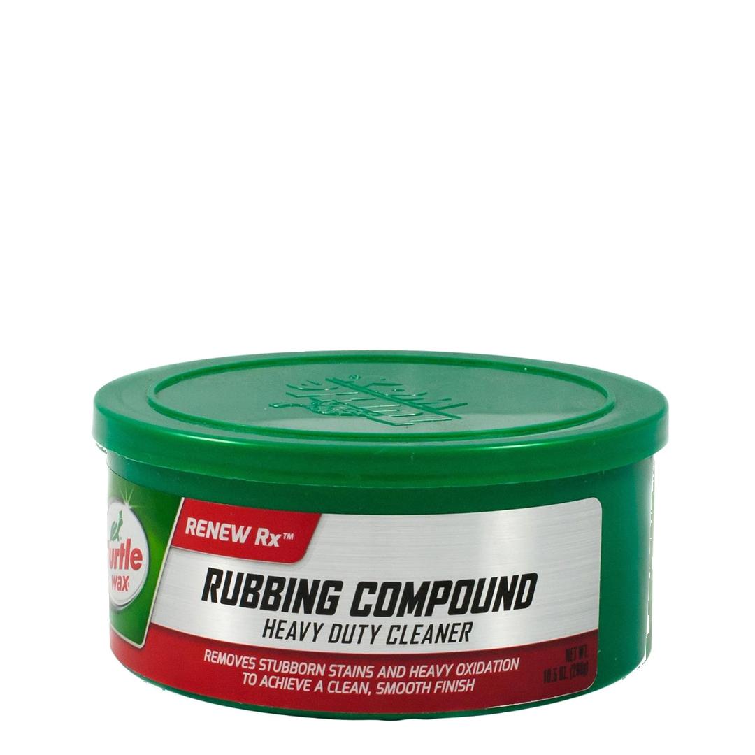 Turtle Wax rubbing compound
