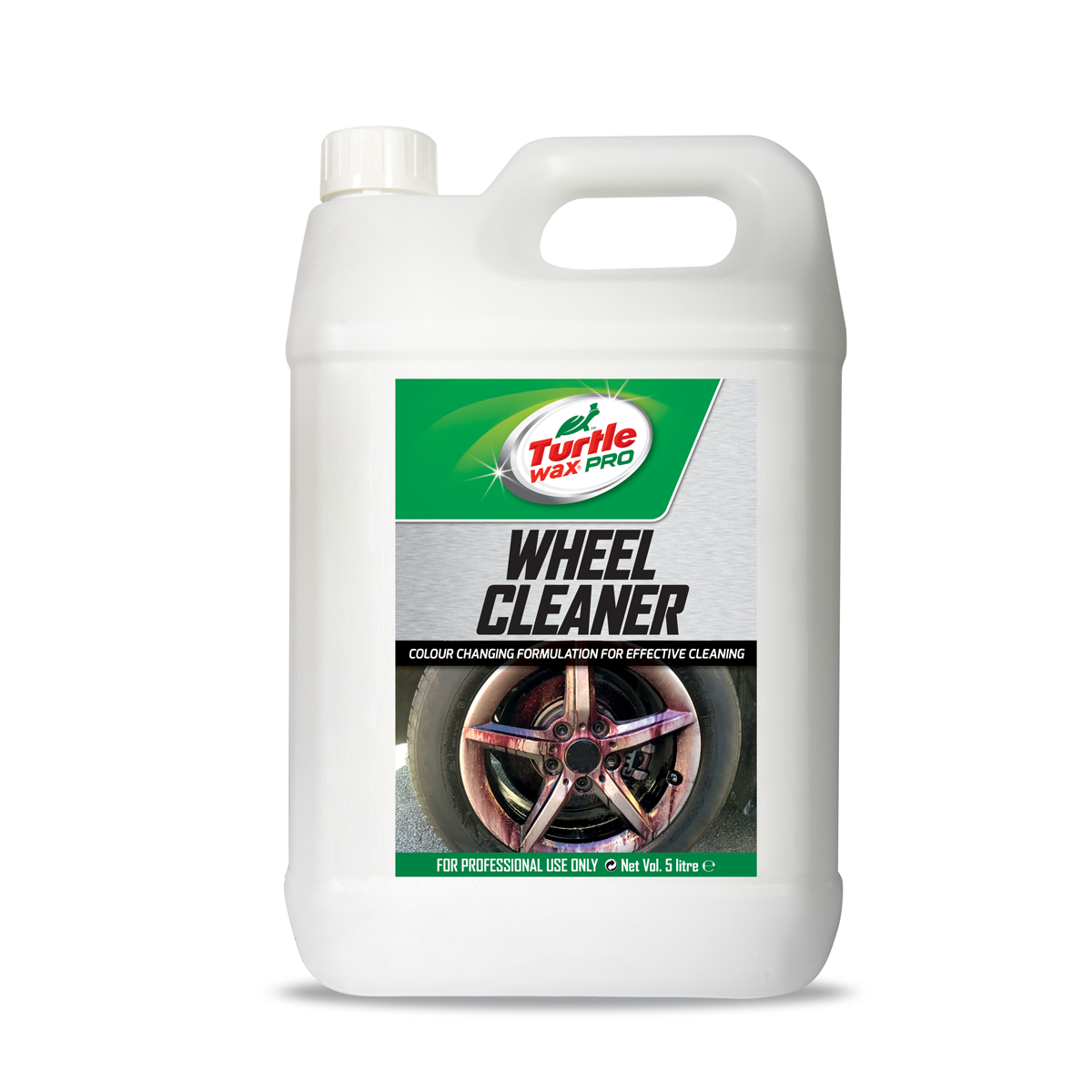Turtle Wax Velgen Reiniger Bleeding Wheels Changing Red Formula 5l