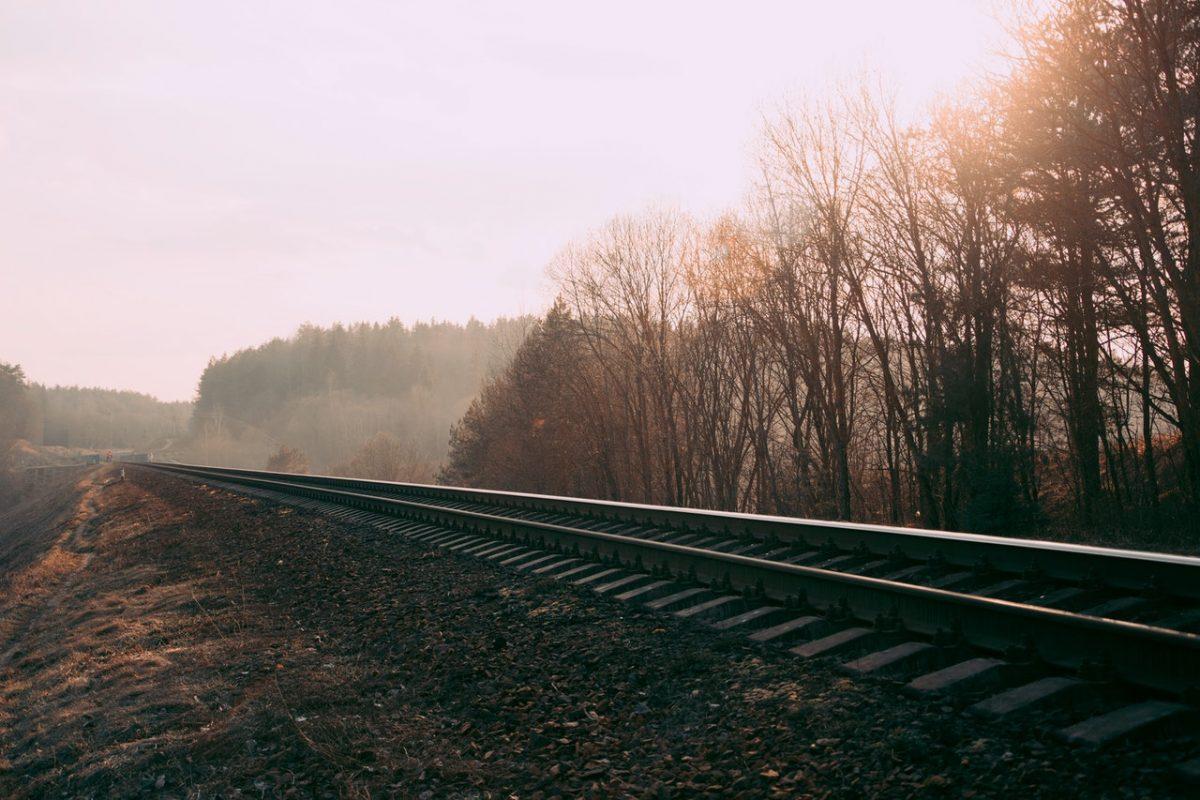 roest spoor spoorwegen rails treinen